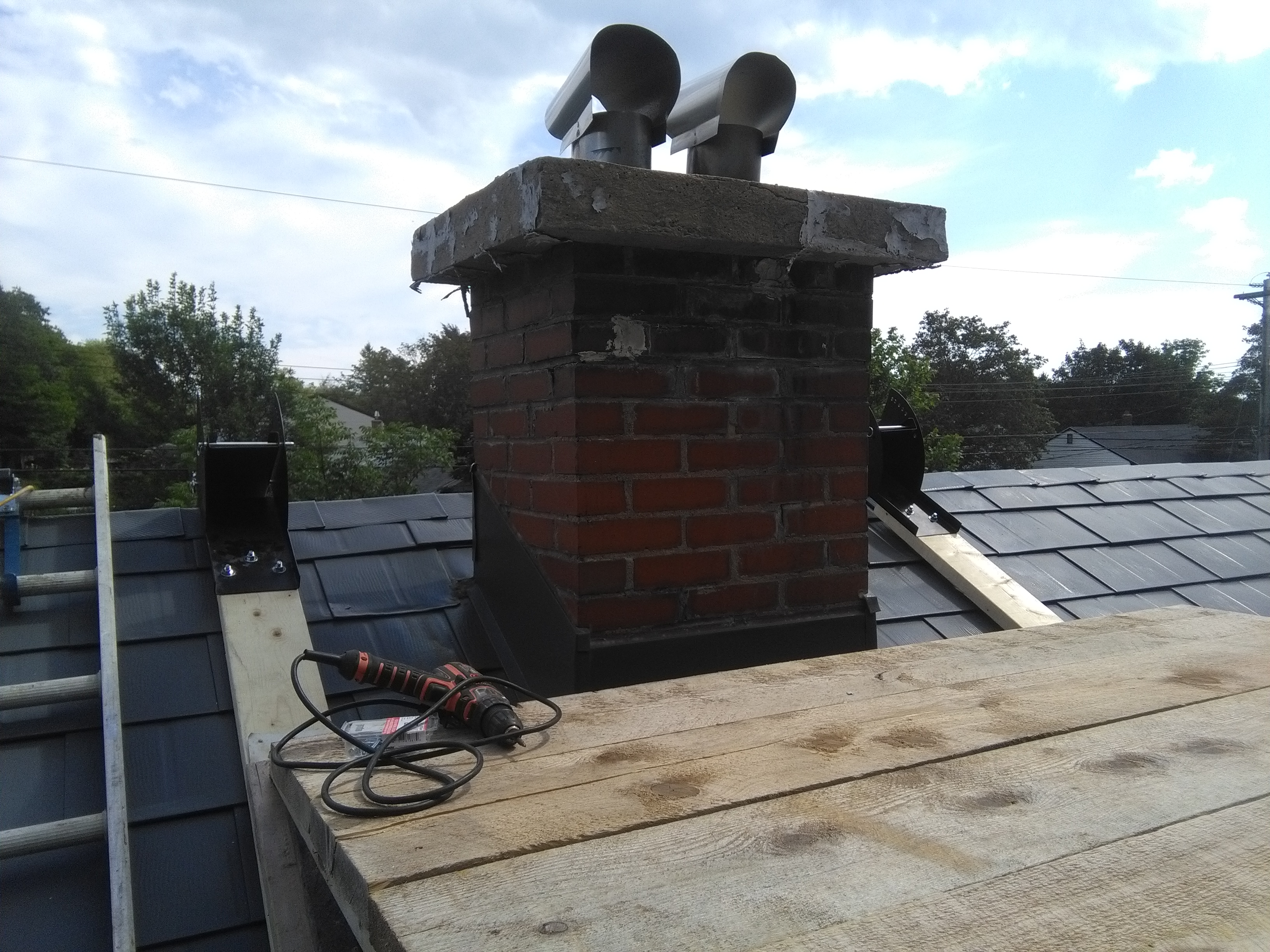 Chimney Crown Forms : Chimney caps crowns