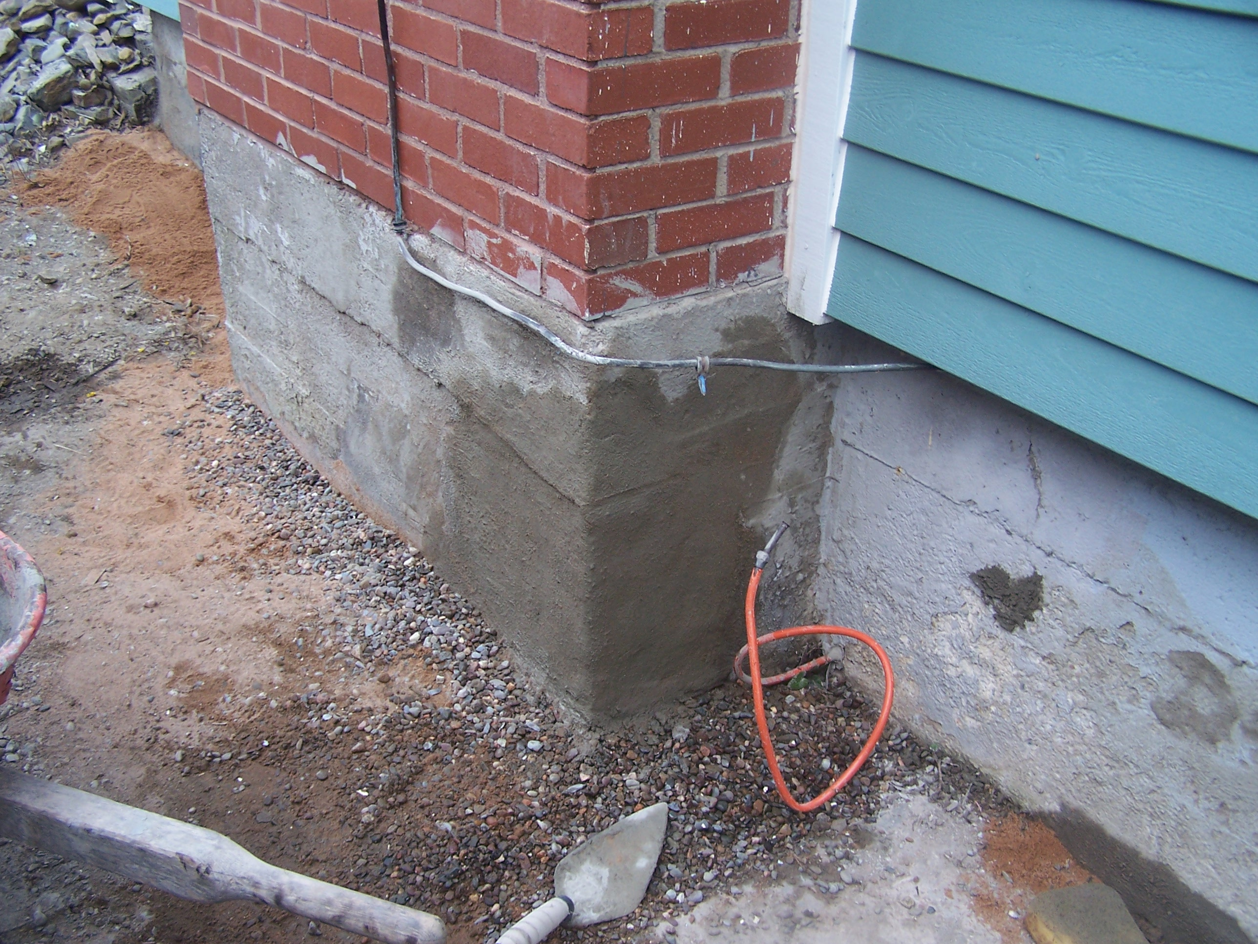 Foundation repair waterproofing image of concrete foundation concrete foundation repairs completed in south end halifax ns by solutioingenieria Images